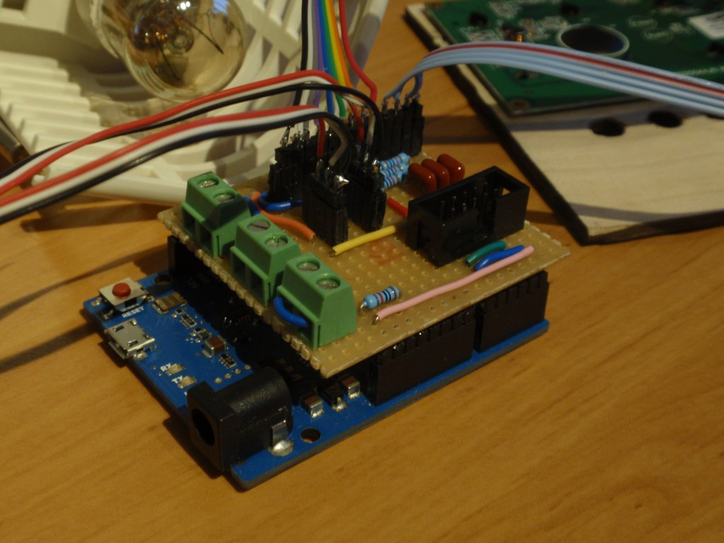 DIY BrewPi Arduino shield